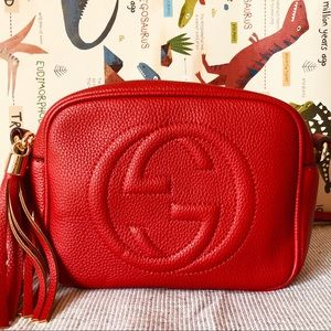 Gucci 8 x 6.25 x 3 Red
